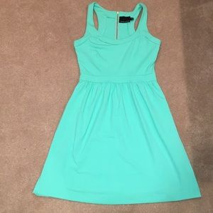 Mint Green Dress with Pockets